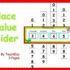 Great way to help students understand the concept of place value. Just print onto card (laminate if you wish) and use in the classroom.