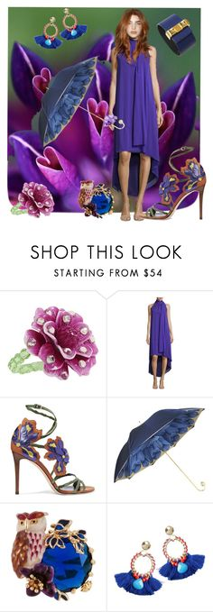 """""""Be Bold"""" by mystic2awesome ❤ liked on Polyvore featuring Tarina Tarantino, Trina Turk, Jimmy Choo, Pasotti Ombrelli, Les Néréides and Hermès"""