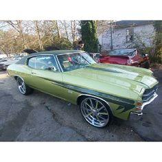 green chevelle budnik gasser wheels atlanta