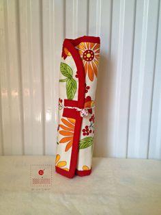 Roll up pen case-Pencil case-Pencil holder-Pen by acoser2014