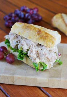 Creamy Ham Salad ~ perfect comfort food for using up those ham leftovers.  www.thekitchenismyplayground.com