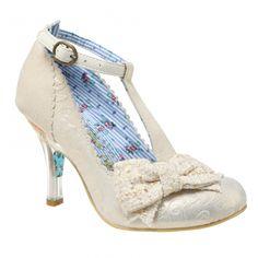 "zapato de ""irregular choice"" para novias diferentes"