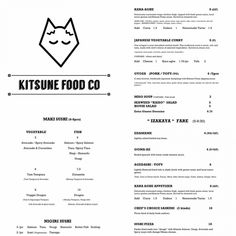 kitsune food co House Salad, Salmon Avocado, Vegetable Curry, Miso Soup, Edamame, Spicy, Restaurants, Food, Diners