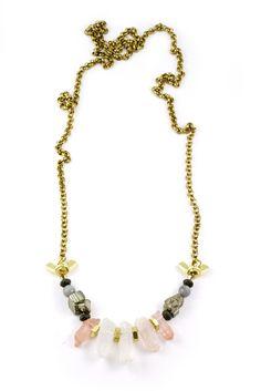 Mine Shaft Necklace Beaded Necklace, Jewels, Beaded Collar, Pearl Necklace, Jewerly, Beaded Necklaces, Gemstones, Fine Jewelry, Gem