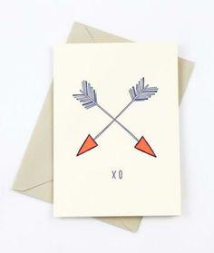 The Love Arrows Card is back in stock! >>>----> <3
