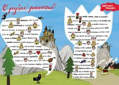 SYLVA FRANCOVÁ: Kreslené pohádky Morse Code, Worksheets, Activities For Kids, Fairy Tales, Classroom, Coding, Education, Logos, School