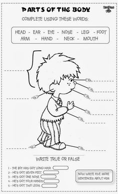 11 Best Images of Spanish Face Worksheet - Fruit and Vegetable Math Worksheets, Kindergarten Worksheets My Face Part and Face Worksheets for Kids Learning English For Kids, English Worksheets For Kids, English Lessons For Kids, Kids English, English Activities, Kindergarten Worksheets, Teaching English, Learn English, Teaching Spanish