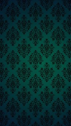 Damask wallpaper, mobile wallpaper, pattern wallpaper, green backgrounds, p Goth Wallpaper, Antique Wallpaper, Luxury Wallpaper, Damask Wallpaper, Green Wallpaper, Mobile Wallpaper, Pattern Wallpaper, Green Backgrounds, Phone Backgrounds