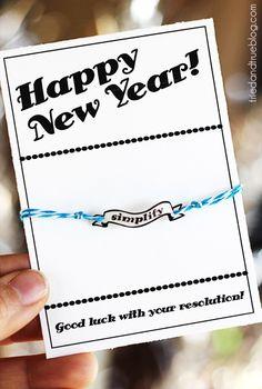 New Year's Resolution Bracelets