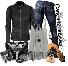 """""""Untitled #669"""" by candy420kisses on Polyvore"""