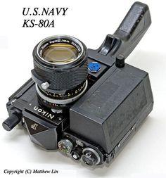 Nikon F US Navy KS-80A special edition model, image provided by Matthew Lin matthewcclin(AT)gmail.com