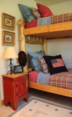 Cute cowboy bunks