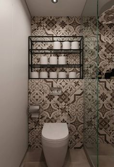 amazing tiled bathroom