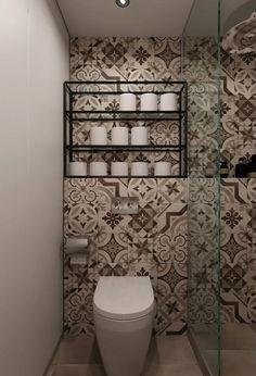 amazing tiled bathroom