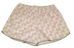 Todas as estampas das samba canção estampas divertidas, são válidas para encomendas do shorts doll.   acabamento com viés