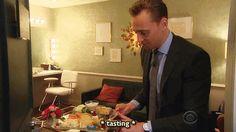 Tom Hiddleston and cheesecake. I'm done.