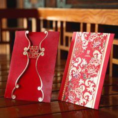 bhands 花开富贵 请帖结婚喜帖-tmall.com天猫  Chinese wedding invitation
