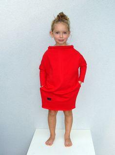 Sukienka Over - kolory - millupa - Sukienki dla dziewczynek
