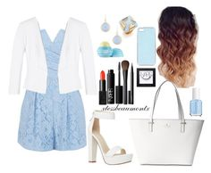 """""""Baby Blue and White """" by xtessbeaumontx on Polyvore"""