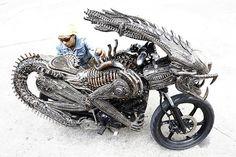 Alien Motorcycle! YES!