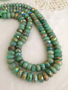 18x14mm NATURAL Gemstone Chrysoprase Nugget Shaped Beads AAA Quality! great for Jewelry Making Full Strand 16 Gorgeous green color