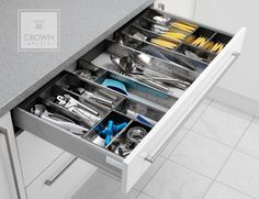 Cutlery Inserts - Clever Kitchen Storage Ideas