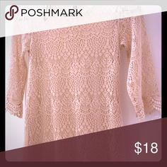 Lace H&M dress Size small- very good condition. H&M Dresses Long Sleeve