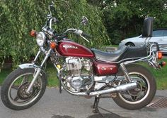 Honda CM400T. First motorcycle I bought on my own.