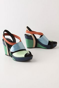 Muted Turns Wedges - StyleSays
