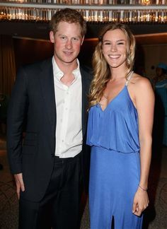 Prince Harry and Sentebale ambassador Joss Stone attend the Sentebale summer party in London on May 7, 2014.