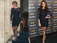 See all the times Meghan Markle has channeled Princess Diana in her style.