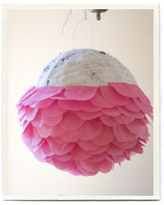this is a pinata but it would also make a pretty awesome party decoration:)