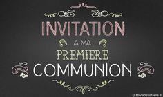 Faire-part de Communion