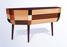 Commode Timber, design Jean-Marc Gady et réalisation Craman-Lagarde (Fort Royal)