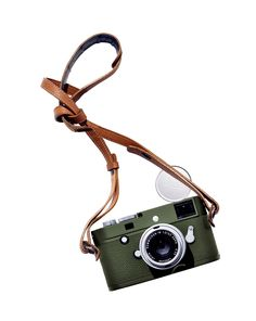 Leica's first olive-green camera, designed in 1960 for journalists and adventurers in the field, is reborn as the advanced digital M-P Safari Edition. Featuring a silver-chrome-finished 35mm lens and a leather strap, it has an irresistible retro look; $9,950. leica-camera.com Tech Gift Ideas Holiday and Christmas 2015 | Architectural Digest