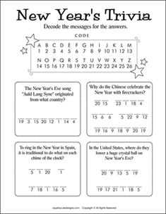 New Year's Day Theme for Preschool