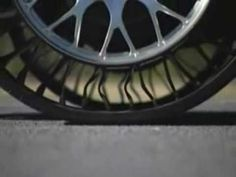Video of Michelin's new Tweel.  Made in South Carolina.  Air-Free.  Coming soon y'all. car tire Michelin design