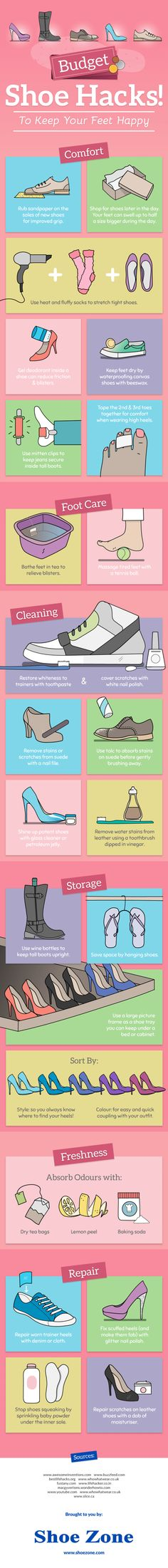 These Shoe Hacks Will Make Your Footwear Last Longer