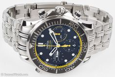 Omega Seamaster Diver 300M Chronograph : 212.30.44.50.01.002 : Bernard Watch