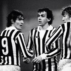 Paolo #Rossi, Michel #Platinì e Zbignew #Boniek