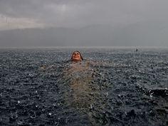 tachonado corazones inspiración 5 lluvia nadar