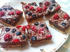 zdrowa vege kuchnia : Obłędnie czekoladowe ciasto w wersji fit, wegańskie, bezglutenowe