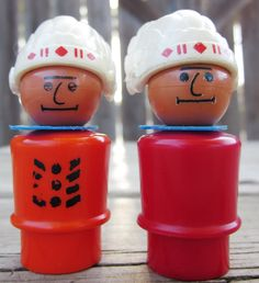 Fisher Price Little People Indian Native American Chiefs. $18.00, via Etsy.