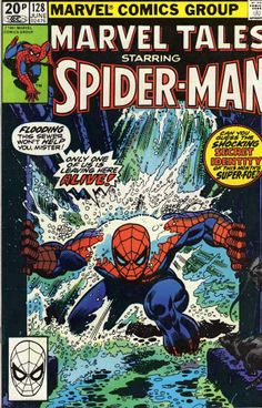 Marvel Tales #128 cover by John Romita Sr.