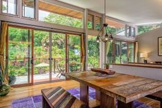 The table and benches are lovely Hawaii Life, Oahu Hawaii, Real Estate Photographer, Lanai, In Ground Pools, Full Bath, Living Area, Light Fixtures, Pergola
