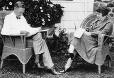 Charles L. McNary (1874-1944)   Oregon Encyclopedia - Oregon History and Culture. SENATOR CHARLES MCNARY WITH HIS SECRETARY, MISS GRACE C. TOWNSEND, AT WORK AT HIS FARM HOME. [Graphic], 08/14/1932