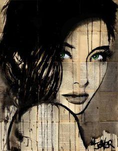 "Saatchi Art Artist Loui Jover; Drawing, ""mai"" #art"