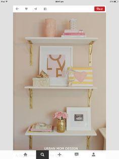 Baby girl shelves