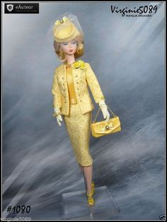 Tenue Outfit Accessoires Pour Fashion Royalty Barbie Silkstone Vintage 1080 | eBay