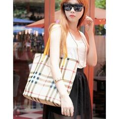Stylish European PU Casual Shoulder Bags Yellow For Girls